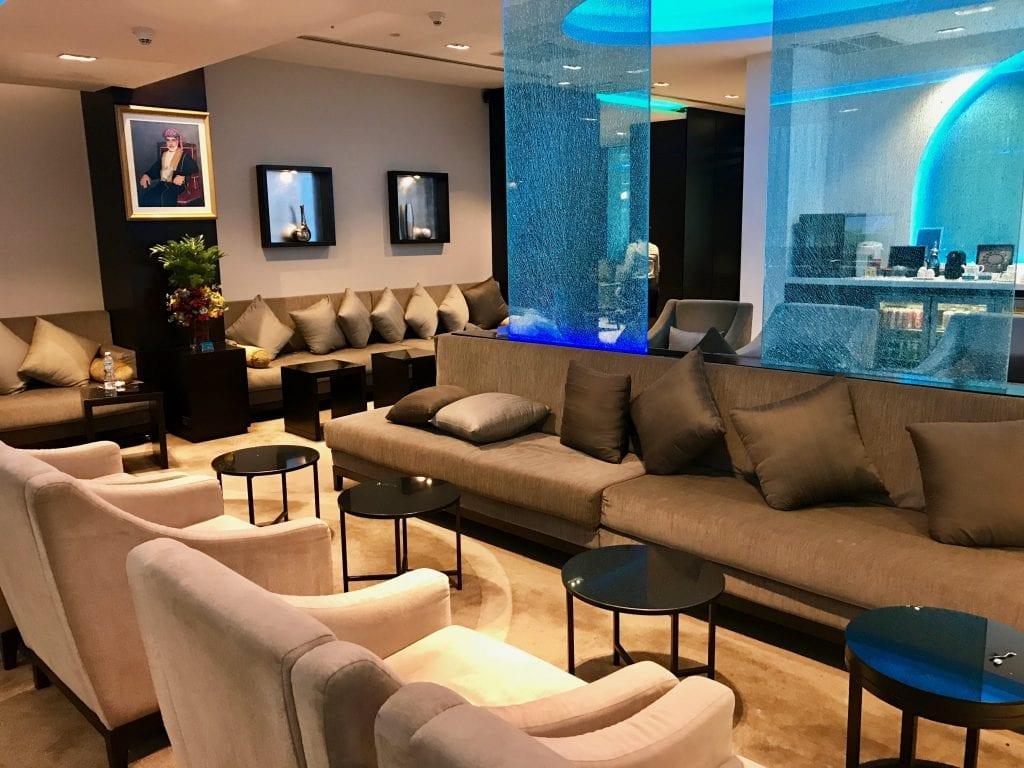 Oman Air Lounge Bangkok