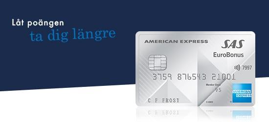 SAS American Express Premium Card