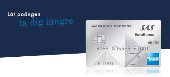 Kreditkort: SAS EuroBonus American Express Premium Card