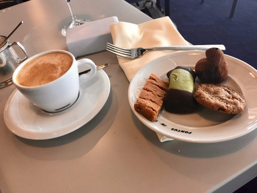 American Express Lounge by Pontus, diverse svenska bakverk