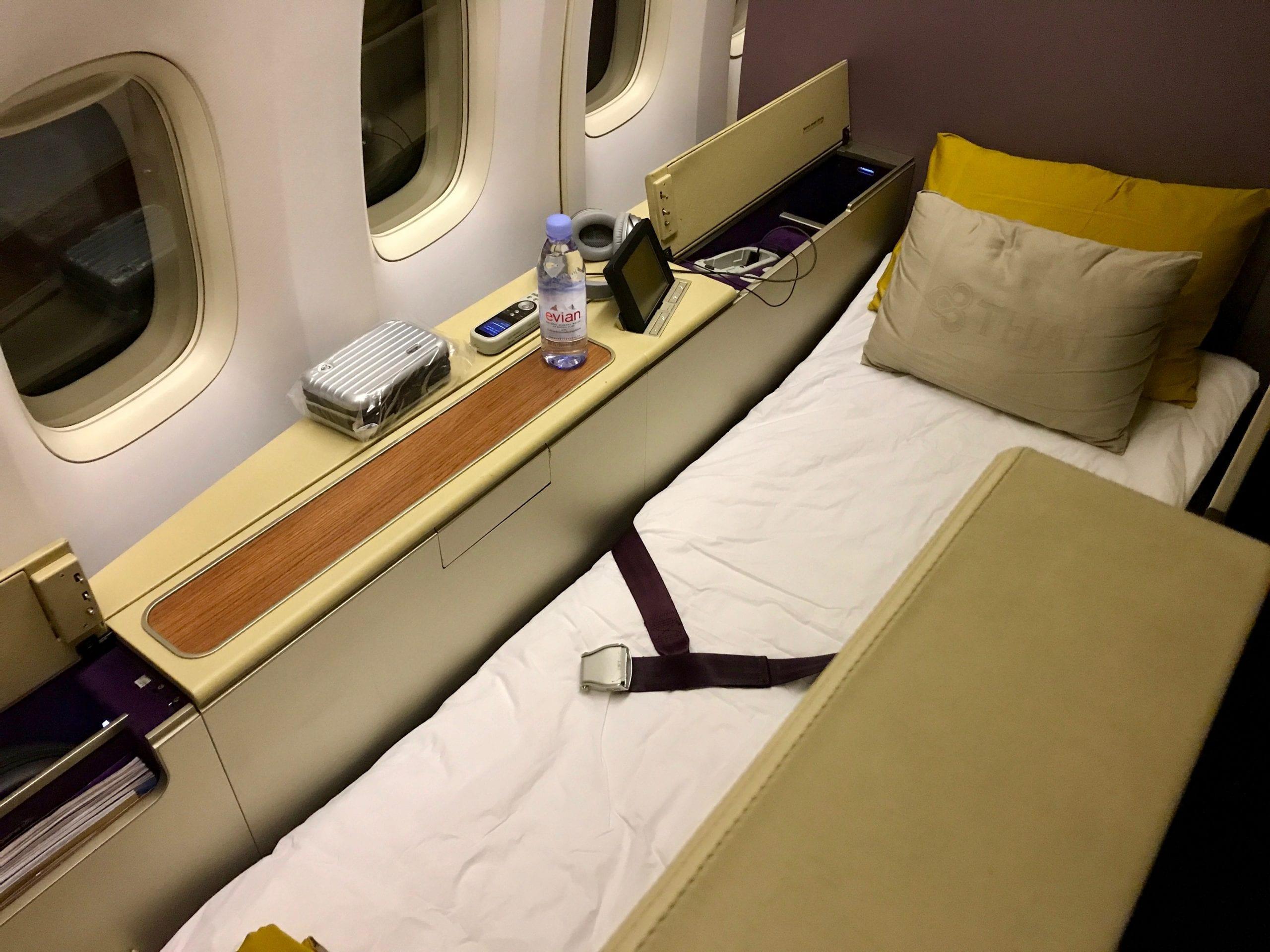 Tokyo-Bangkok i Thais First Class