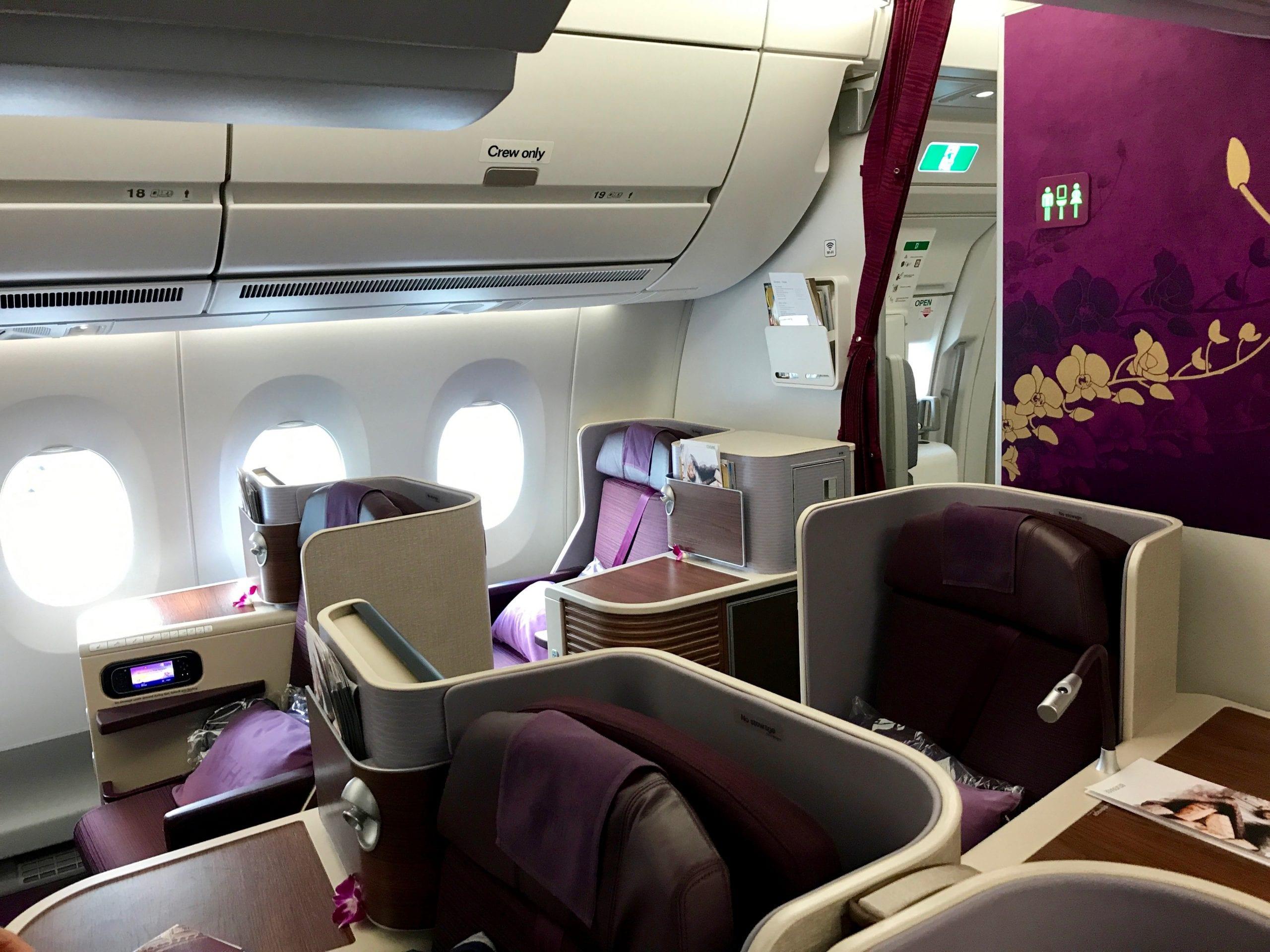 Bangkok - Dubai i Thais Business Class