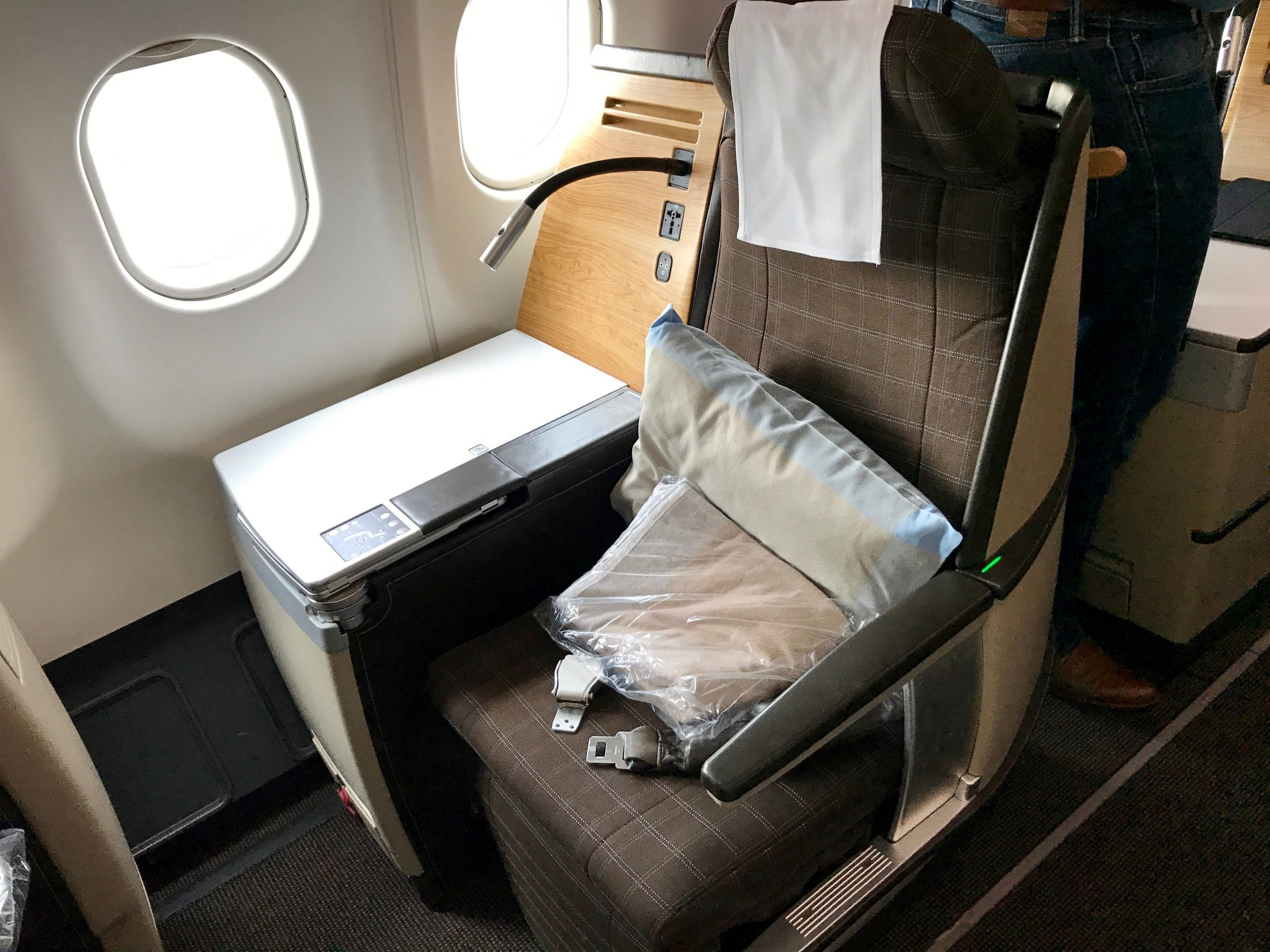 Zurich - New York i Swiss Business Class
