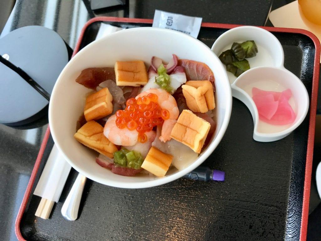 Fish Bowl, ANA Suite Lounge