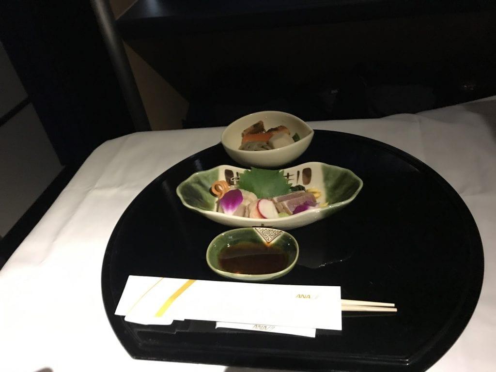 Sashimi (Otsukuri), ANA First Class