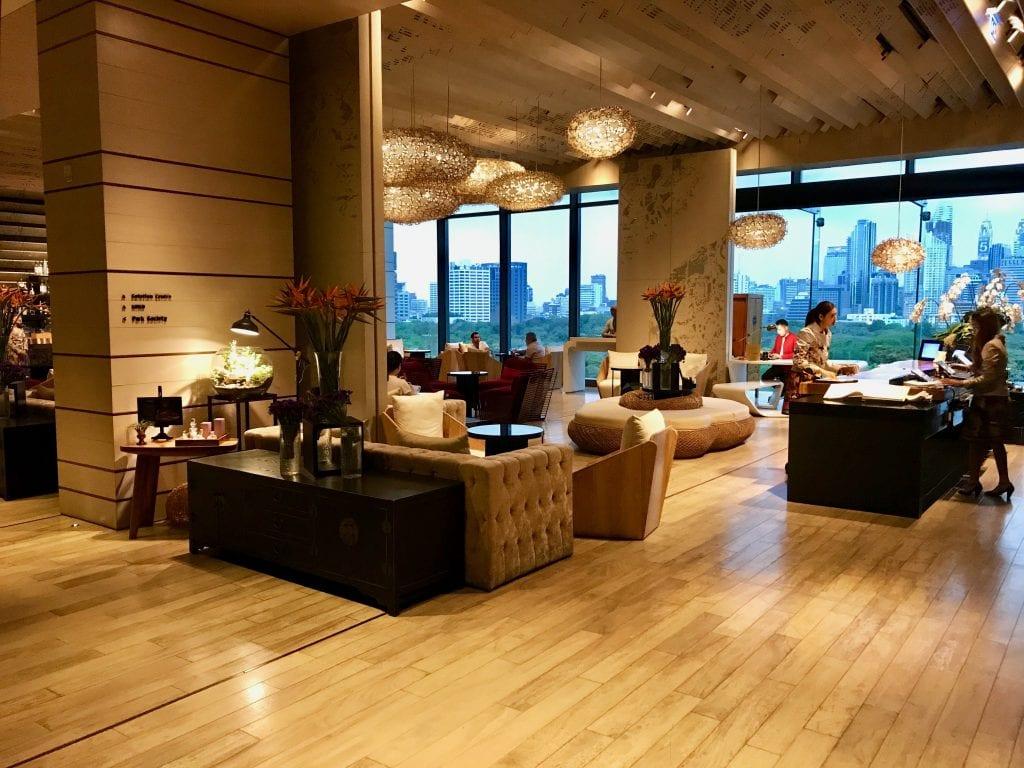 Lobbyn på So Sofitel Bangkok