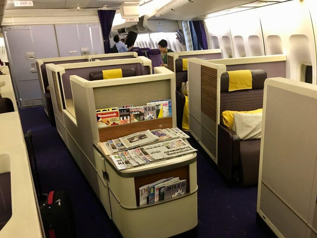 Thai First Class kabin