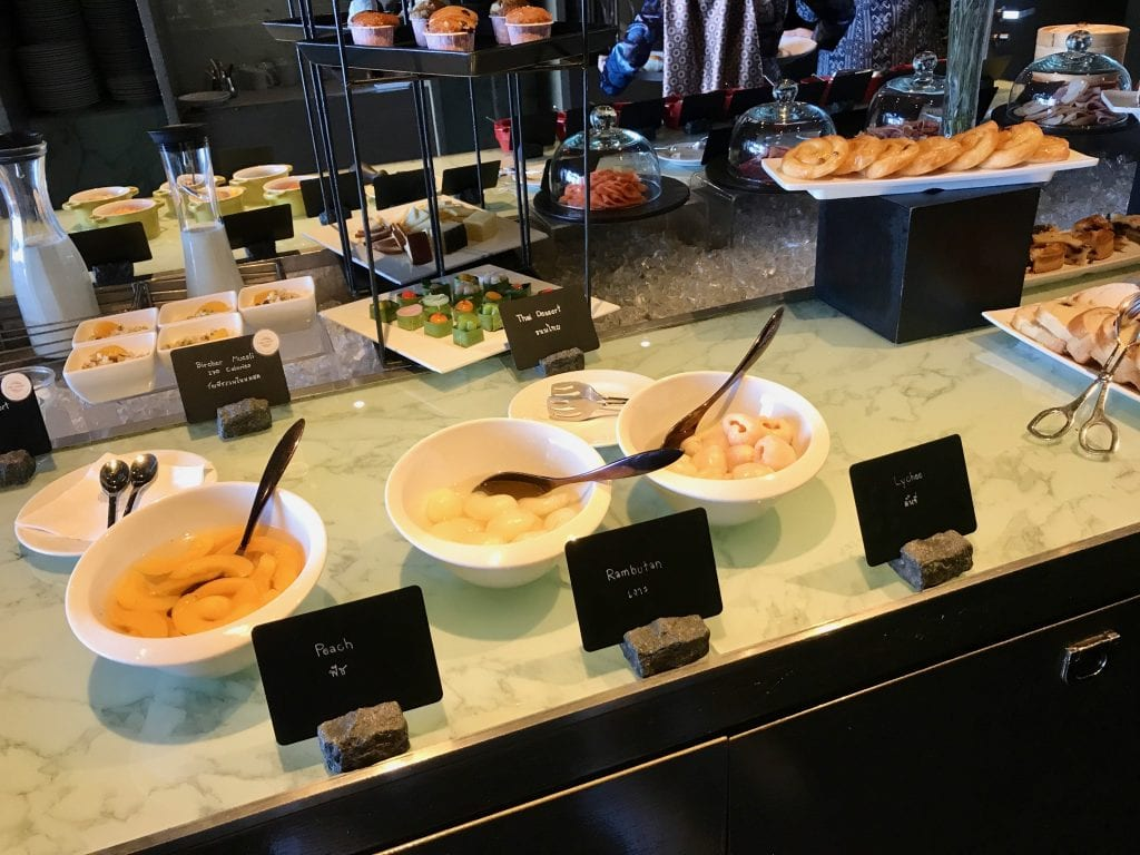 Frukostbuffé, So Sofitel Bangkok