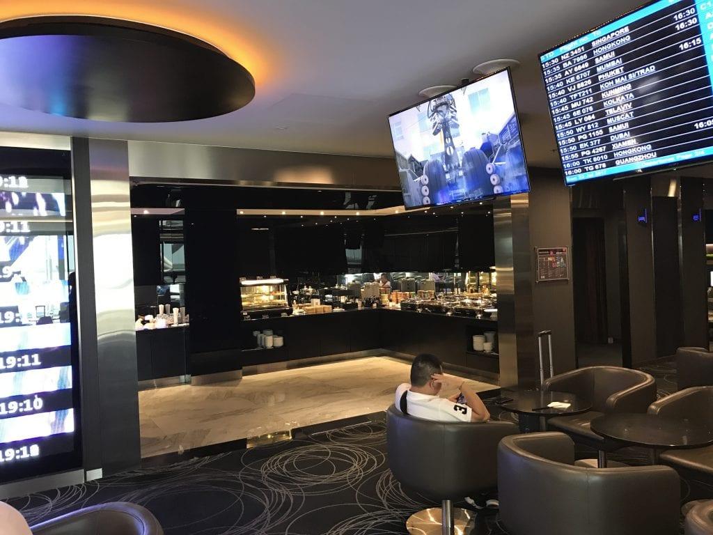 Inredning, EVA Air Lounge