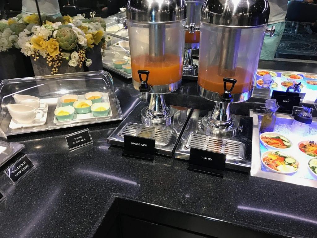 Mat & Dryck, EVA Air Lounge