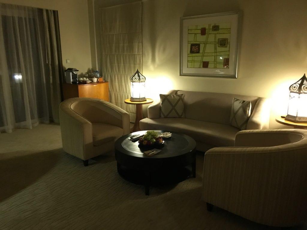 Vardagsrummet, Park Hyatt Dubai