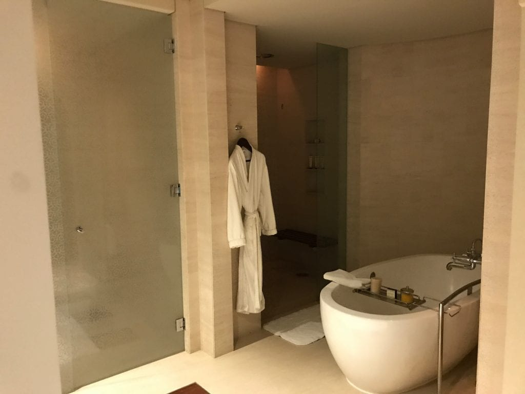 Badrummet, Park Hyatt Dubai