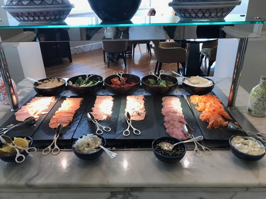 Frukostbuffé, Park Hyatt Dubai