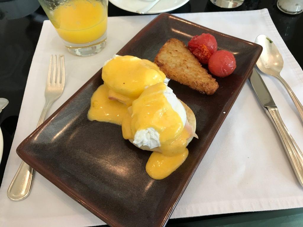 Eggs Benedict, Park Hyatt Dubai