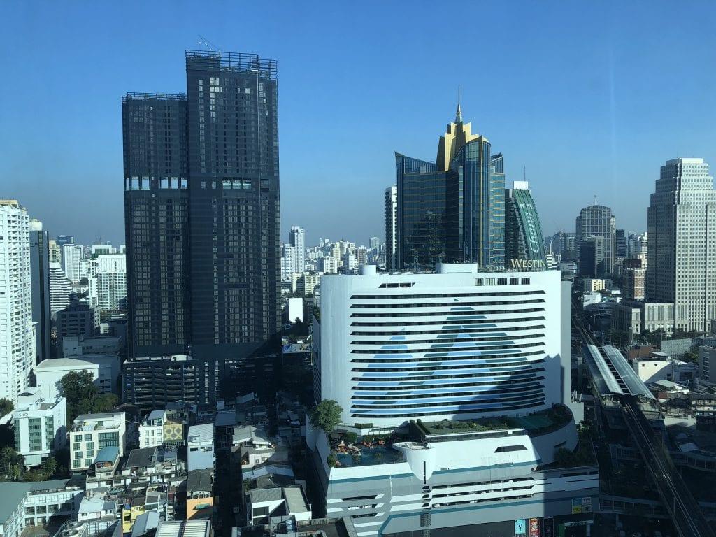 Magisk utsikt från sviten, Sofitel Bangkok Sukhumvit