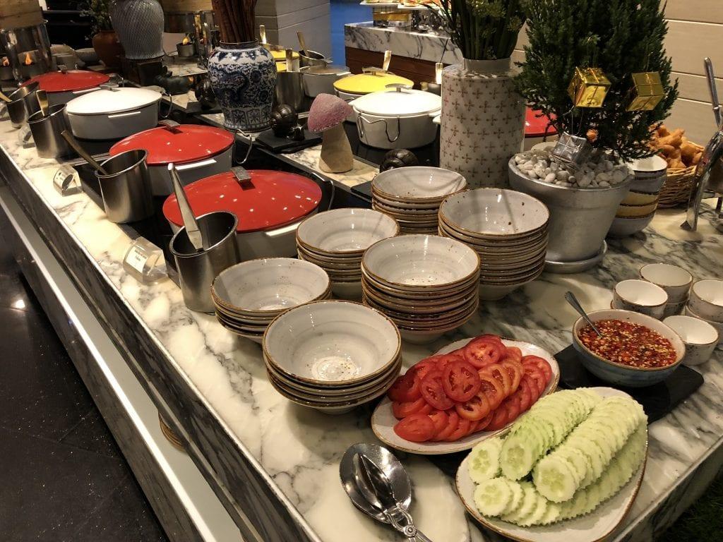 Frukostbuffé, Sofitel Bangkok Sukhumvit