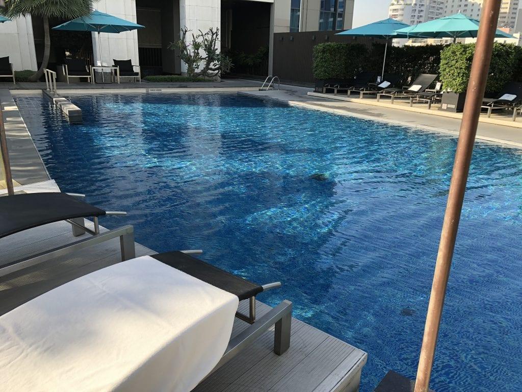 Poolområdet, Sofitel Bangkok Sukhumvit
