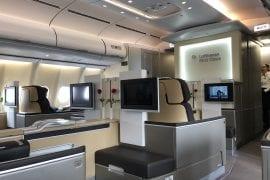 Lufthansas First Class ombord A330