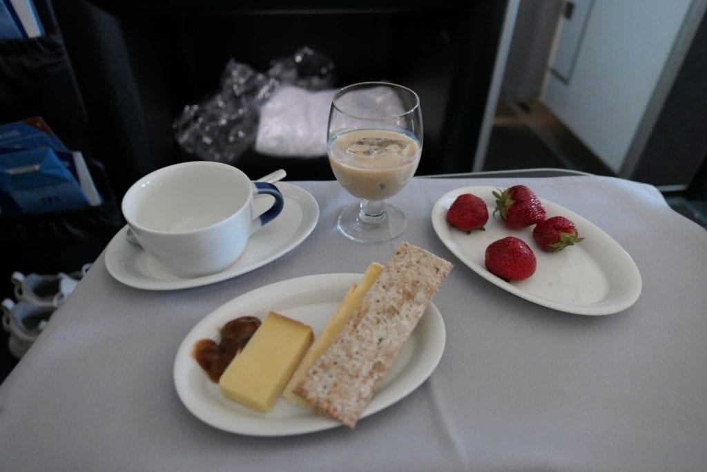 SAS Business Class, dessert