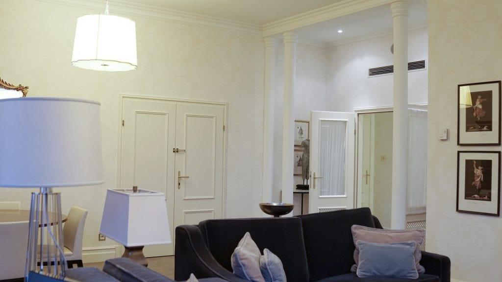 Vardagsrum, Hotel Bristol Warsaw