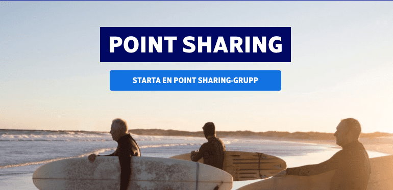 SAS Eurobonus Point Sharing