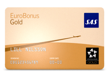 SAS EBG - Eurobonus Gold